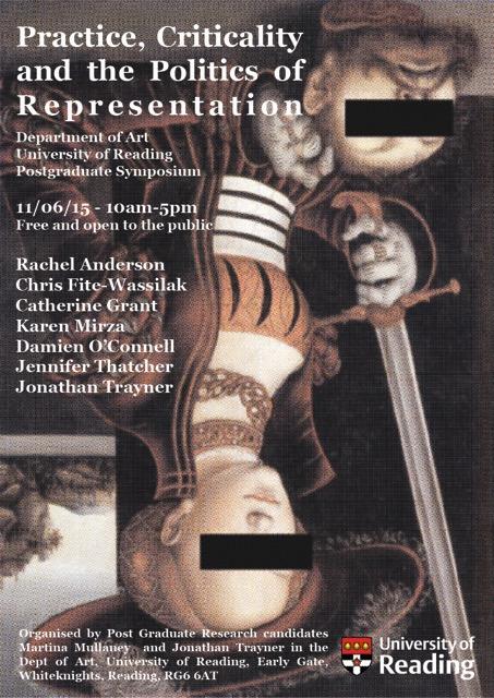 PostGrad Art Symposium Poster